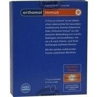 ORTHOMOL Immun Direktgranulat Orange/Menthol
