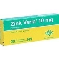 ZINK VERLA 10 mg Filmtabletten**