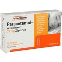 PARACETAMOL-ratiopharm 75 mg Zäpfchen