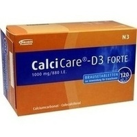 CALCICARE D3 forte Brausetabletten