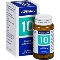 Biochemie Orthim Nr. 10 Natrium Sulfuricum D6 Tabletten