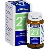 Biochemie Orthim Nr. 27 Kalium Bichromicum D12 Tabletten