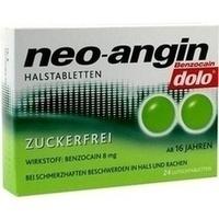 NEO ANGIN Benzocain dolo Halstabletten zuckerfrei**