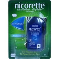 NICORETTE freshmint 2 mg Lutschtabletten gepresst