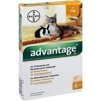 ADVANTAGE 40 mg Lsg.f.kl.Katzen/kl.Zierkaninchen**