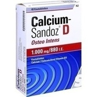 CALCIUM SANDOZ D Osteo intens Kautabletten**
