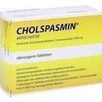 CHOLSPASMIN Artischocke überzogene Tabletten