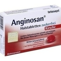 TETESEPT Anginosan Halstabletten zuckerfrei Kirsch