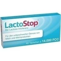 LACTOSTOP 14.000 FCC Tabletten