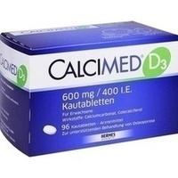 Calcimed D3 600mg 400 I.e. Kautabletten  96 Stück