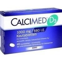 Calcimed D3 1000mg 880 I.e.  Kautabletten 48 Stück