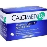 Calcimed D3 1000mg 880 I.e.  Kautabletten 96 Stück