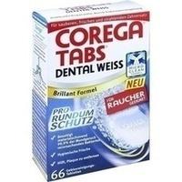 COREGA Tabs Dental weiß Tabletten für Raucher