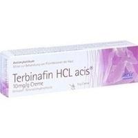 TERBINAFIN HCL acis 10 mg/g Creme
