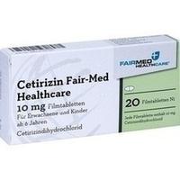 CETIRIZIN Fair-Med Healthcare 10 mg Filmtabletten