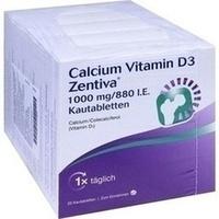 CALCIUM VITAMIN D3 Zentiva 1000 mg/880 I.E. Kautab