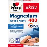 DOPPELHERZ Magnesium 400 für die Nacht Tabletten