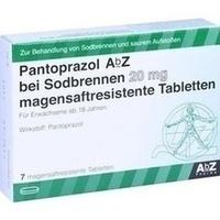 PANTOPRAZOL AbZ bei Sodbrennen 20 mg msr.Tabl.