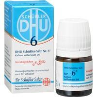 BIOCHEMIE DHU 6 Kalium sulfur.D 6 Globuli