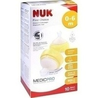 NUK First Choice Einmal-Trinksauger TPE 0-6 Mon./S