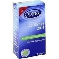 OPTREX ActiDrops 2in1 f.müde+überanstrengte Augen