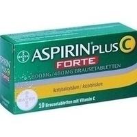 ASPIRIN plus C forte 800 mg/480 mg Brausetabletten