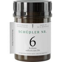 SCHÜSSLER Nr.6 Kalium sulfuricum D 6 Tabletten