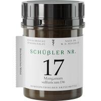 SCHÜSSLER Nr.17 Manganum sulfuricum D 6 Tabletten