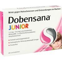 DOBENSANA Junior 1,2mg/0,6mg Lutschtabletten