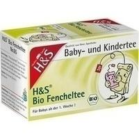 H&S Bio Fencheltee Baby- und Kindertee Filterbeut.
