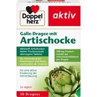 DOPPELHERZ Galle-Dragee mit Artischocke**