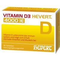 VITAMIN D3 Hevert 4.000 I.E. Tabletten