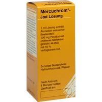 MERCUCHROM Jod Lösung