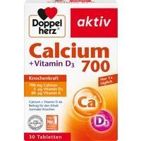 DOPPELHERZ Calcium 700+Vitamin D3 Tabletten