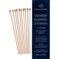 SILBERNITRAT-Kaliumnitr.Ätzstäb.Ätzstift 115mm st.