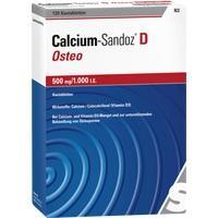 CALCIUM SANDOZ D Osteo 500 mg/1.000 I.E. Kautabl.