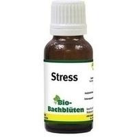 BIO BACHBLÜTEN Stress Tropfen f.Hund/Katze/Pferd
