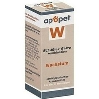 APOPET Schüßler-Salze-Kombination W ad us.vet.Gl.