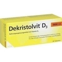 DEKRISTOLVIT D3 5.600 I.E. Tabletten