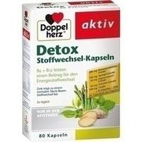 DOPPELHERZ Detox Stoffwechsel-Kapseln