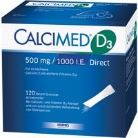 CALCIMED D3 500 mg/1000 I.E. Direct Granulat