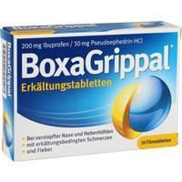 BOXAGRIPPAL Erkältungstabletten 200 mg/30 mg FTA