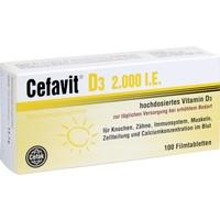 CEFAVIT D3 2.000 I.E. Filmtabletten