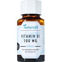 NATURAFIT Vitamin B1 100 mg Kapseln