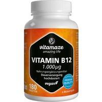 VITAMIN B12 1.000 μg hochdosiert vegan Tabletten