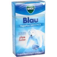 WICK BLAU Menthol Bonbons o.Zucker Clickbox