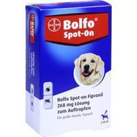 BOLFO Spot-On Fipronil 268 mg Lsg.f.große Hunde