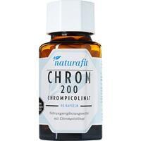 NATURAFIT Chrom 200 Chrompicolinat Kapseln