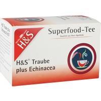 H&S Traube plus Echinacea Filterbeutel
