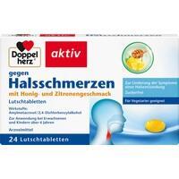 DOPPELHERZ gegen Halsschmerzen Lutschtabletten